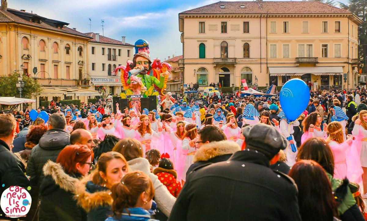 Carnevalissimo 2019 a Valdobbiadene