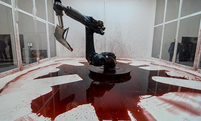 Installazione alla Biennale d'arte di Venezia